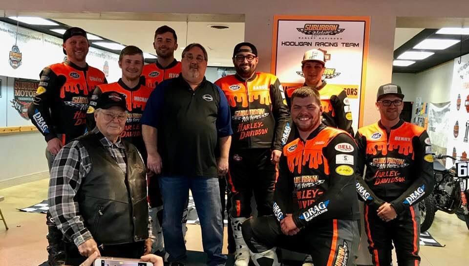 Suburban Motors Harley-Davidson Race Team