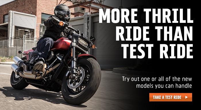 Harley-Davidson More Thrill Than Test Ride at Vandervest Harley-Davidson