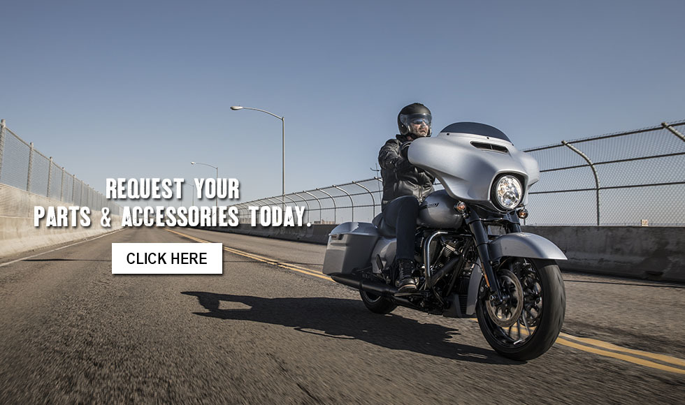 Request Your Parts & Accessories at Bumpus Harley-Davidson of Collierville
