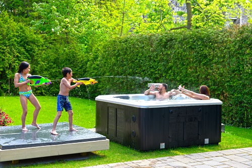 Hydropool Hot Tubs at J&B Cycle and Marine