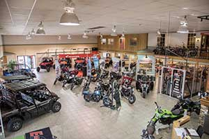 Showroom at Ehlerding Motorsports