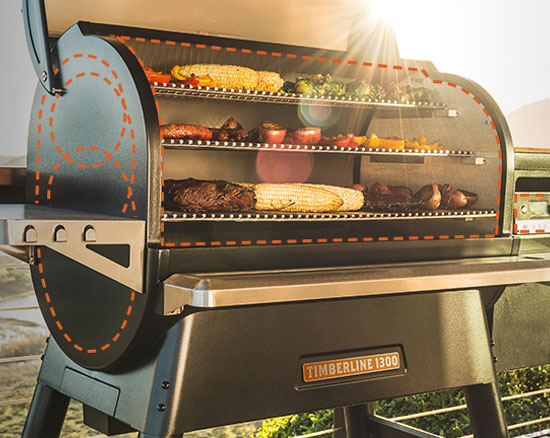 Traeger Grills at J&B Cycle and Marine