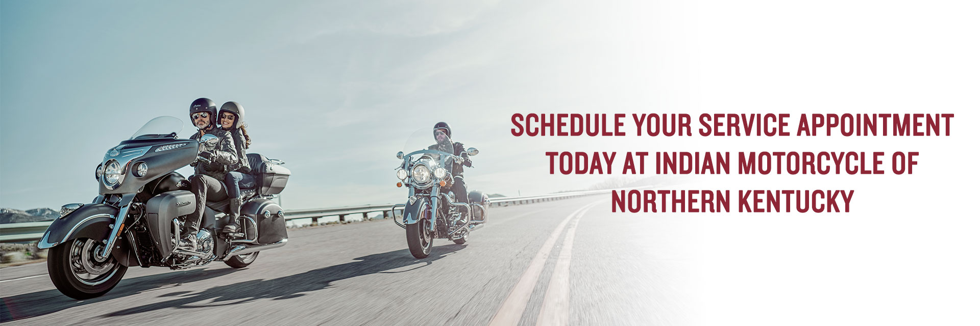 Get service done at Indian Motorcycle of Northern Kentucky