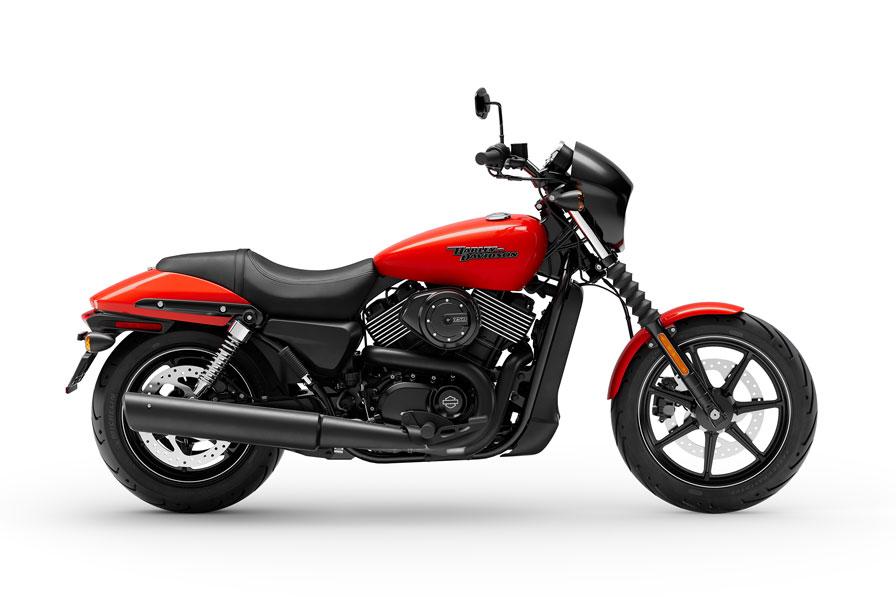 Harley-Davidson Street Inventory