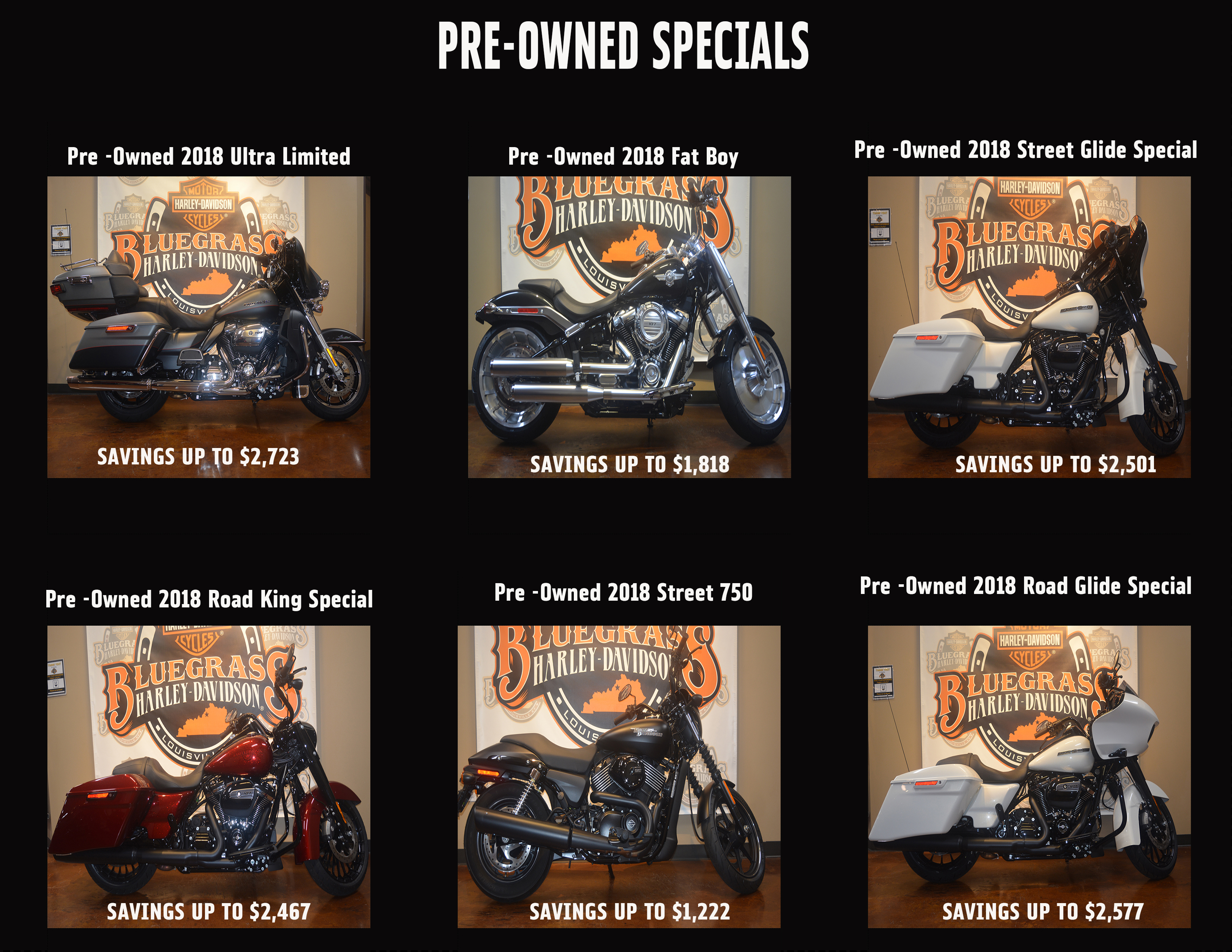 Used Bike Specials