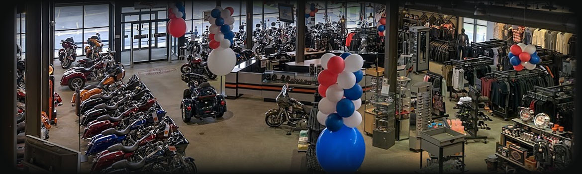 All American Harley-Davidson Location & Hours