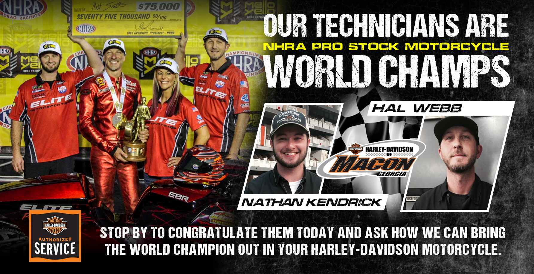 Harley-Davidson of Macon Service Team