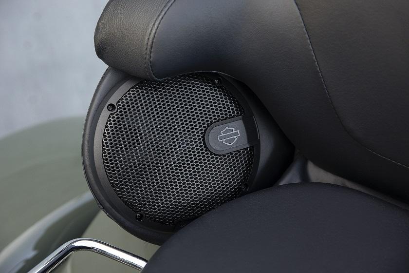 Stage 1 Rockford Fosgate H-D speakers