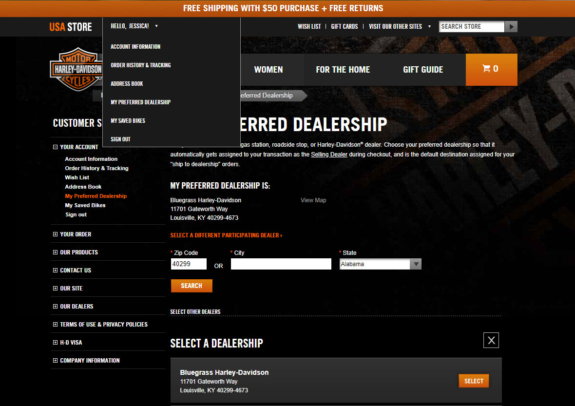 Shop MotorClothes Online at Bluegrass Harley-Davidson