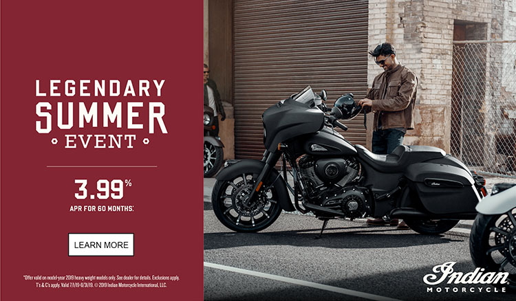 Indian Promotional Financing & Trade-In Offer - 2019 Thunder Stroke 111 at Reno Cycles and Gear
