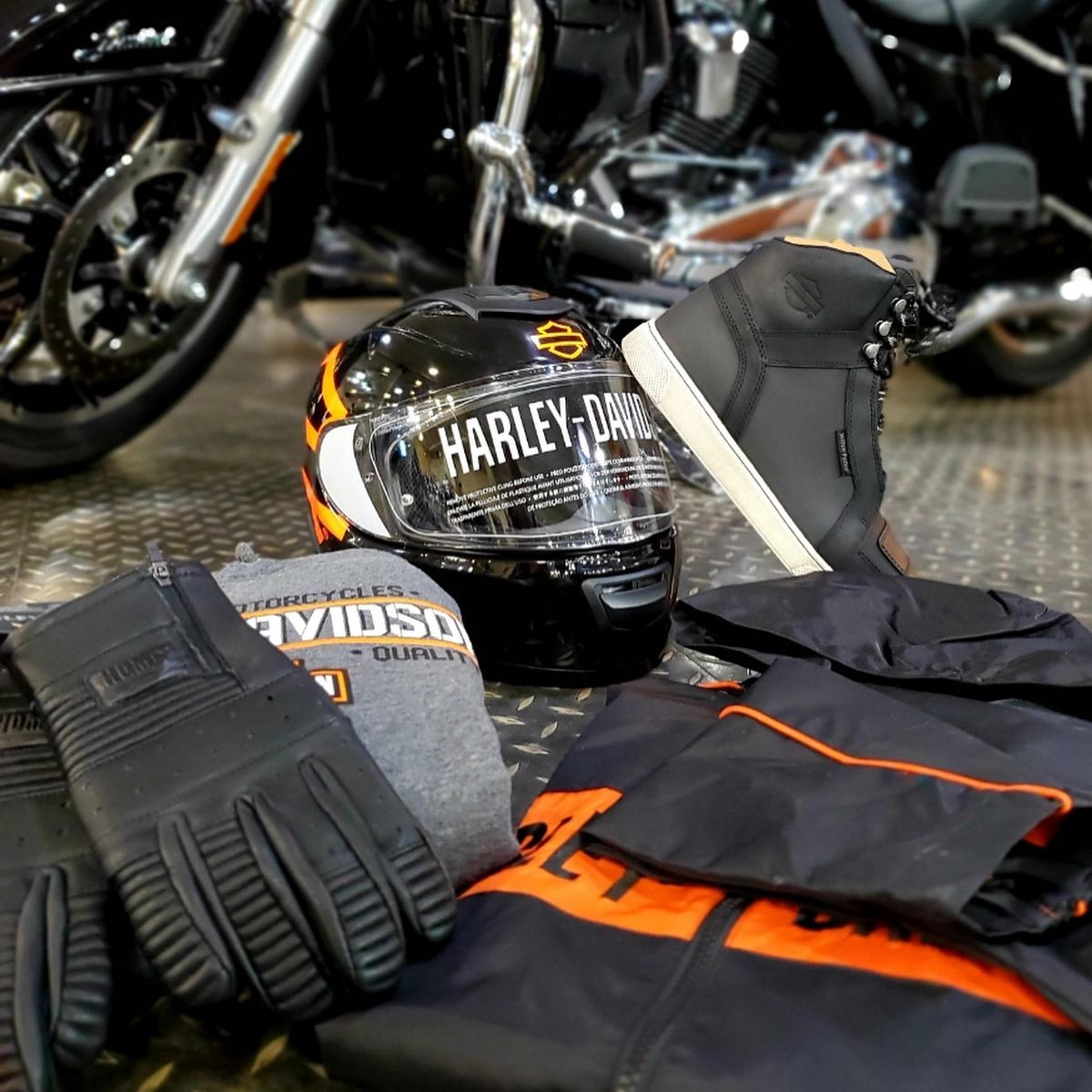 MotorClothes riding gear at Gasoline Alley Harley-Davidson