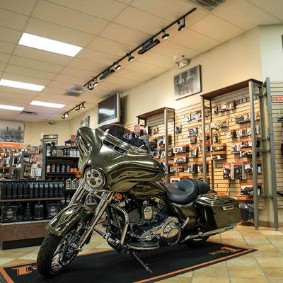 A peak inside MineShaft Harley-Davidson®
