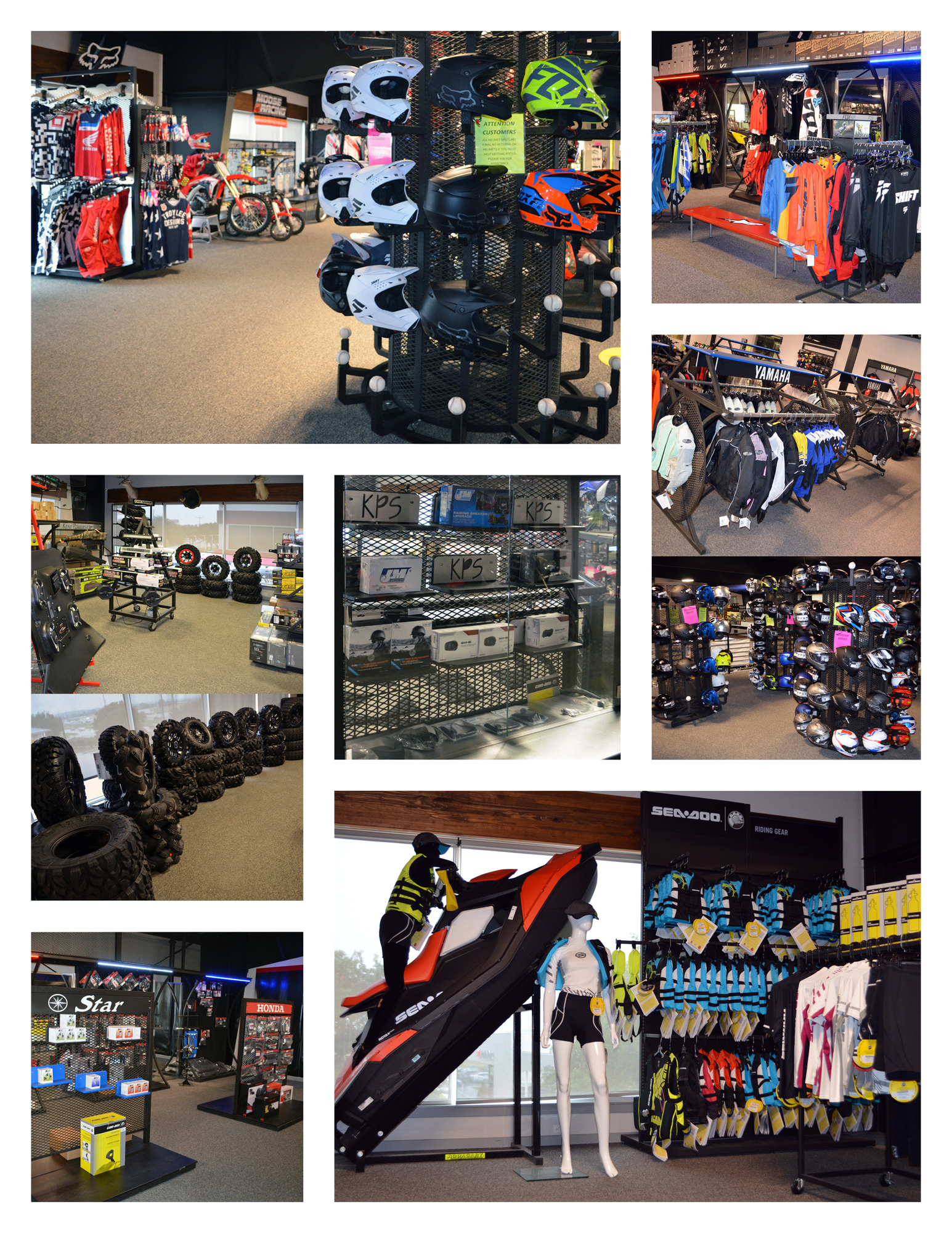 Parts and Accessories at Kent Powersports