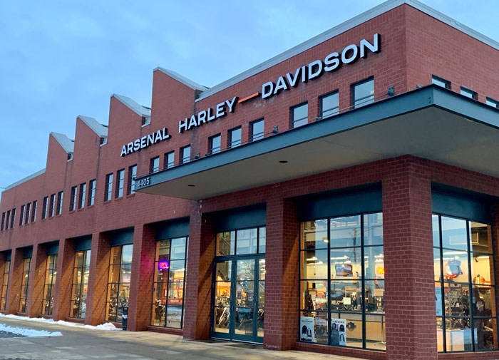 Shop Our Showroom at Arsenal Harley-Davidson