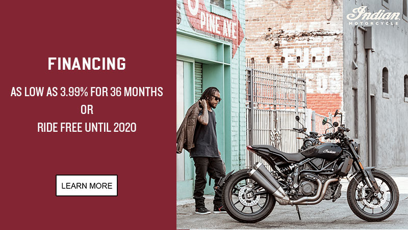 Indian Promotional Financing - 2019 FTR 1200 Family at Lynnwood Motoplex