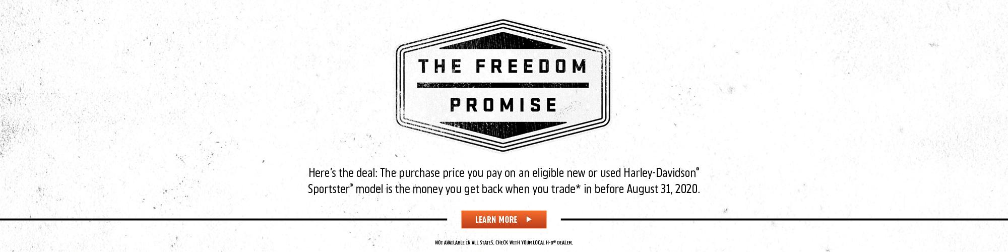Harley-Davidson Freedom Promise at Harley-Davidson of Atlanta