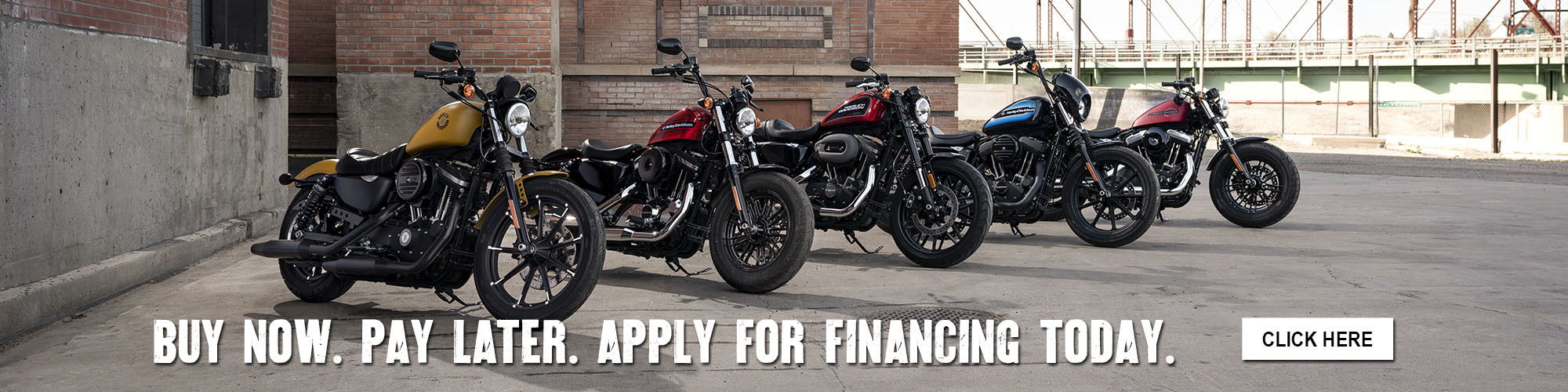 Apply for Financing today at Roughneck Harley-Davidson