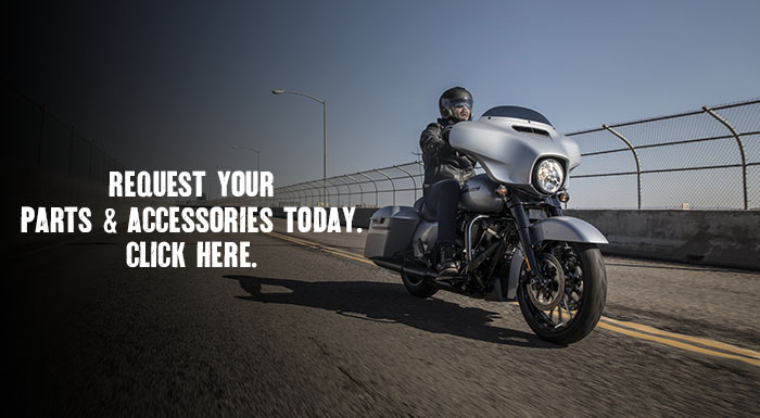 Get Your Parts & Accessories from Wolverine Harley-Davidson