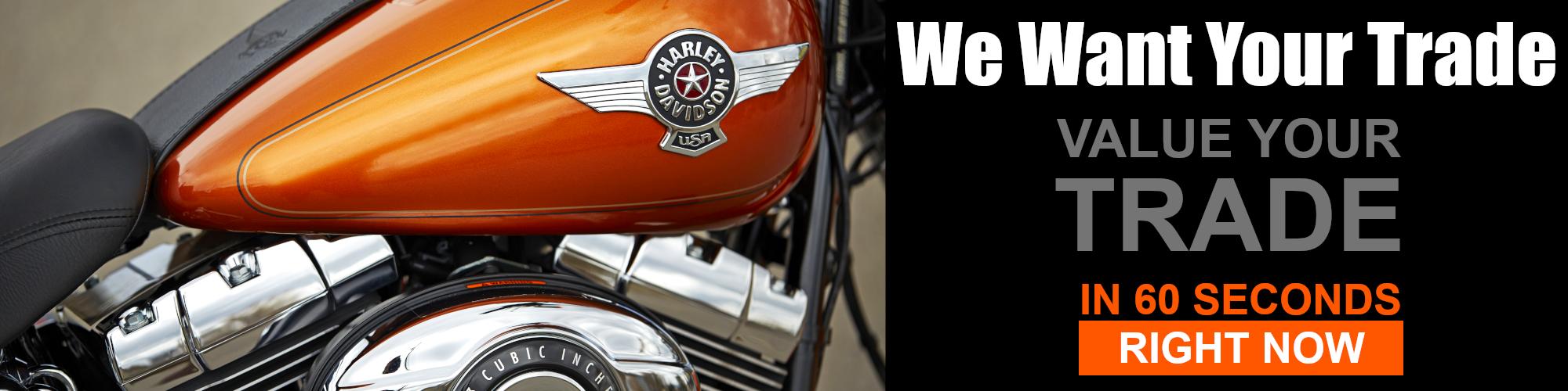 Value Your Trade At Platte River Harley-Davidson