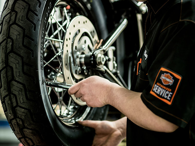 Wheel Protection At Indianapolis Southside Harley-Davidson