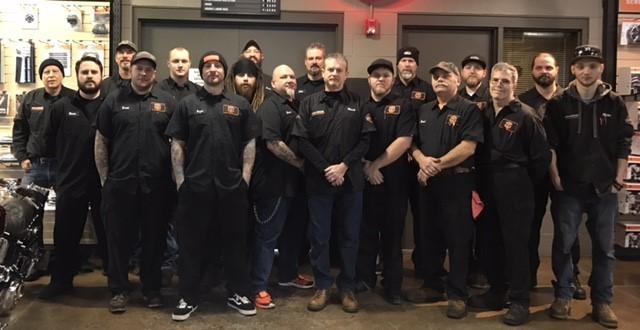 Service Department at Wolverine Harley-Davidson