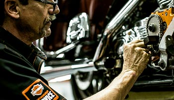 Service Department at Shenandoah Harley-Davidson