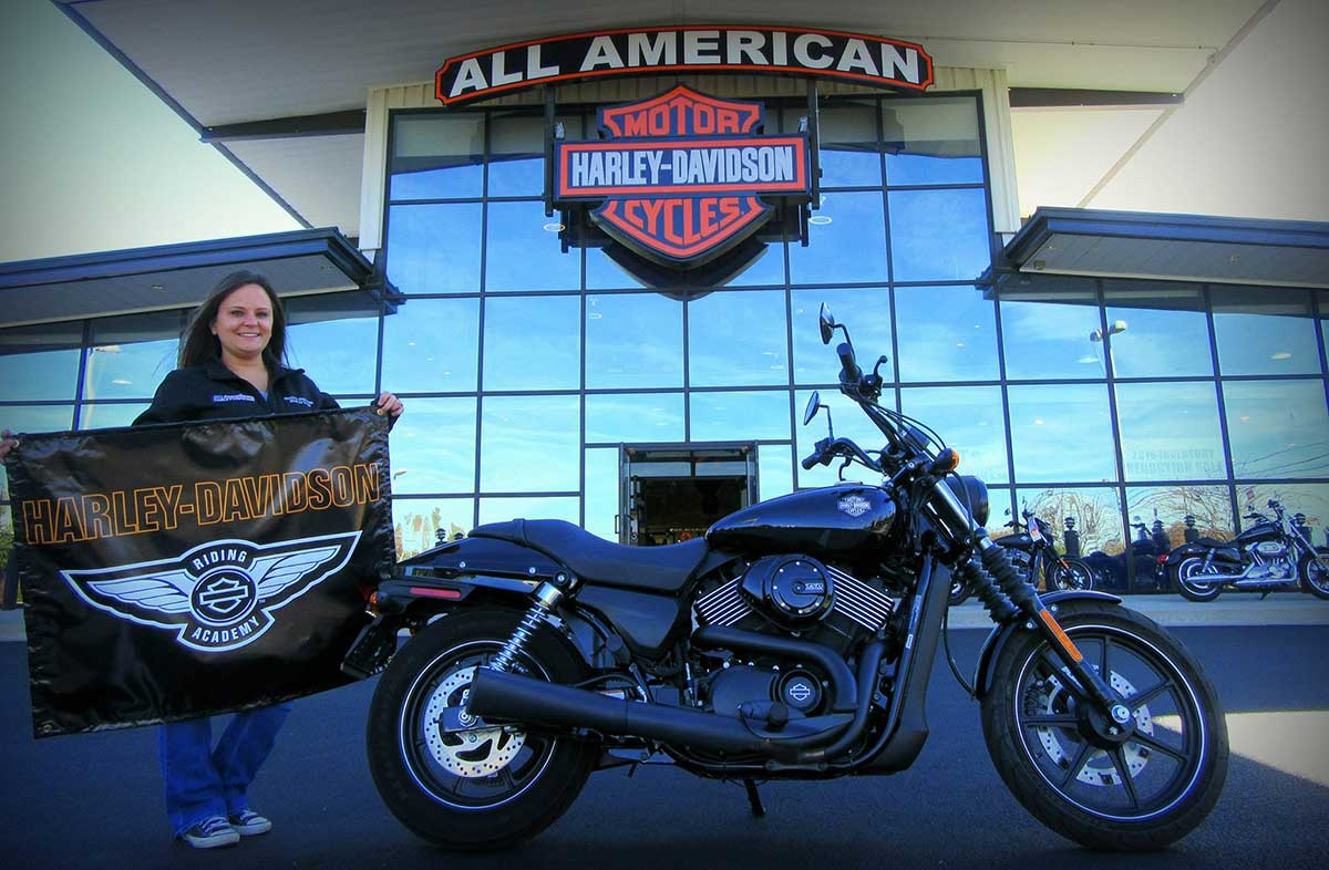 Riding Academy at All American Harley-Davidson