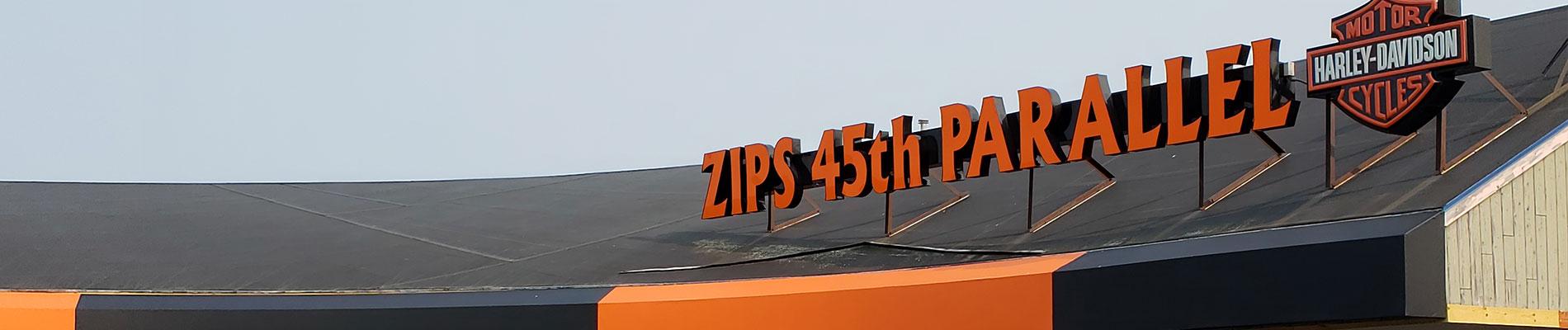 Zips 45th Parallel Harley-Davidson