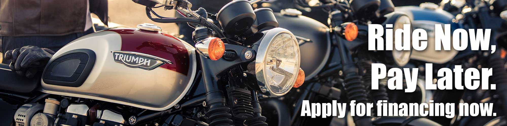 Apply for Financing Today at Used Bikes Direct