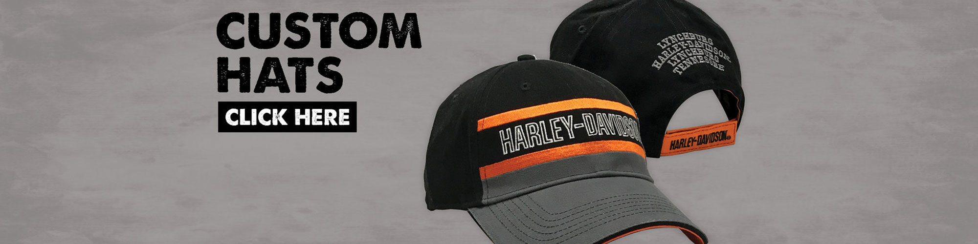 Shop Online for Custom Harley-Davidson Hats at Lynchburg Harley-Davidson
