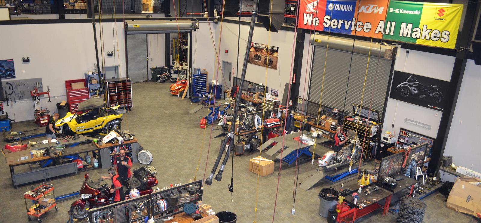 Service Department at Kent Powersports