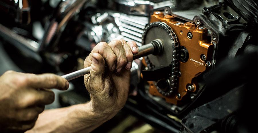 Service Department at Bluegrass Harley-Davidson
