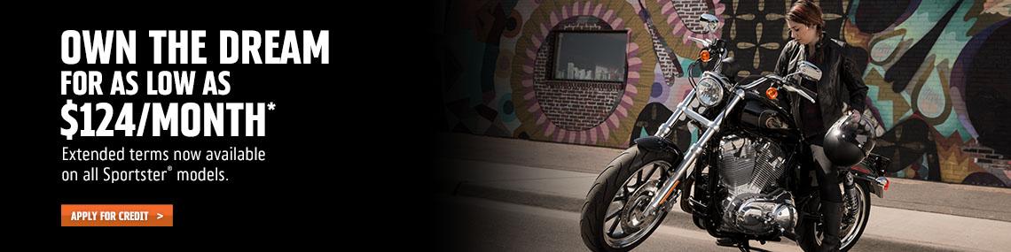 Harley-Davidson 84-Month Sportster Attainability Promotion at Harley-Davidson of Atlanta