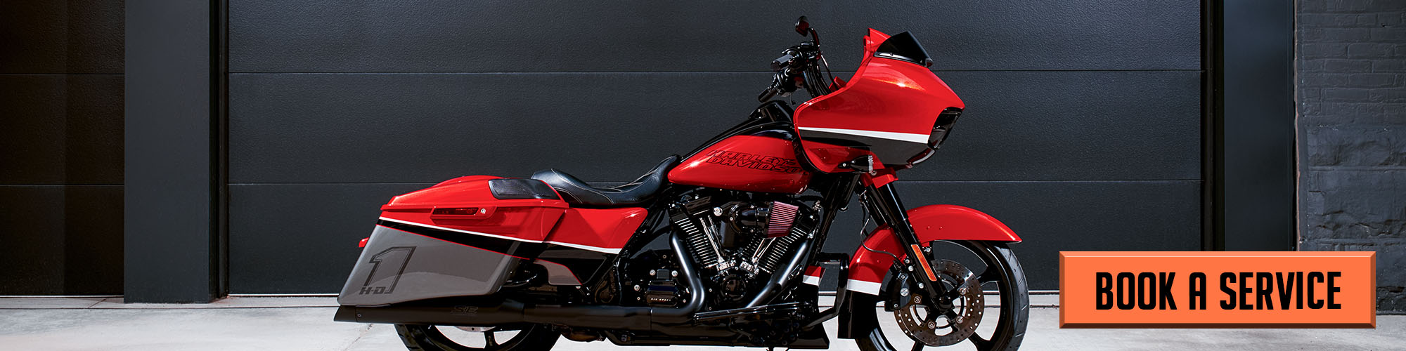 Book A Service at M & S Harley-Davidson