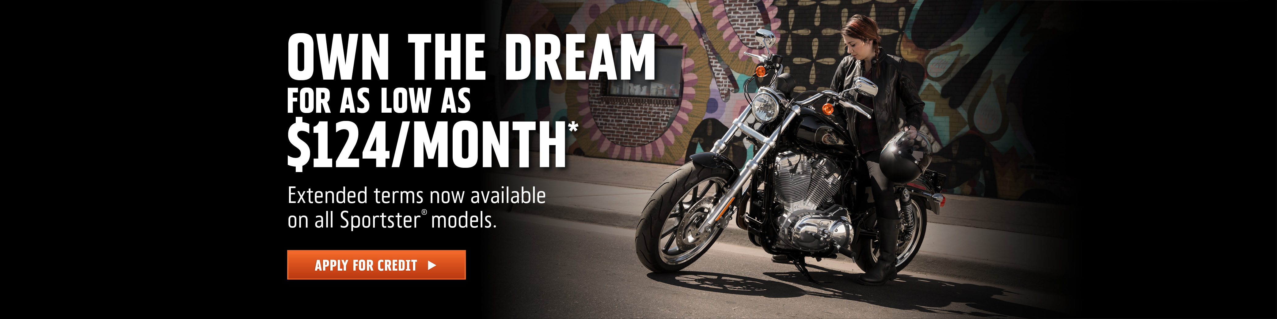 84-Month Sportster Attainability Promotion at Thunder Harley-Davidson