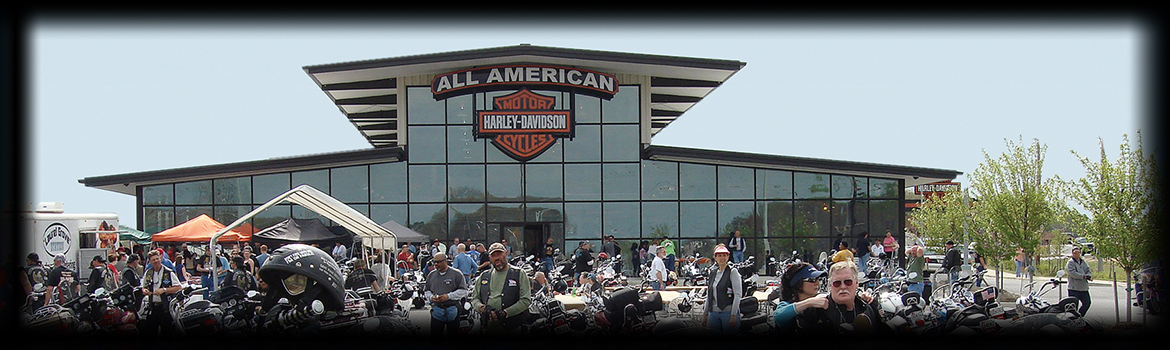 About All American Harley-Davidson