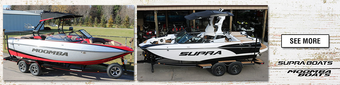 Moomba & Supra Boats at Fort Fremont Marine In-Stock Inventory