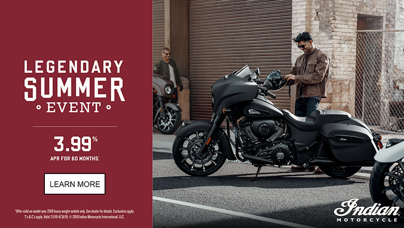 Indian Promotional Financing & Trade-In Offer - 2019 Thunder Stroke 111 at Lynnwood Motoplex