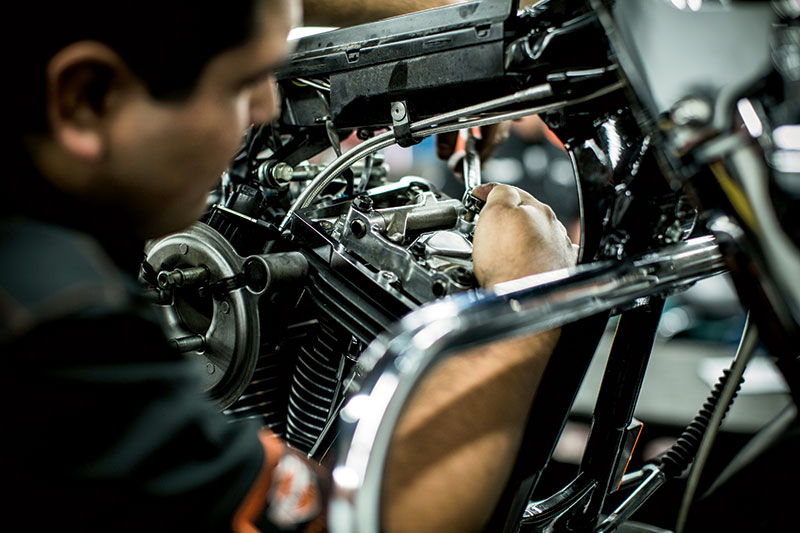 Get your Service done at Vandervest Harley-Davidson