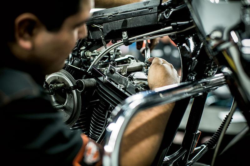 Get your Service done at Vandervest Harley-Davidson