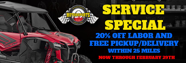 Mungenast Motorsports Service Special