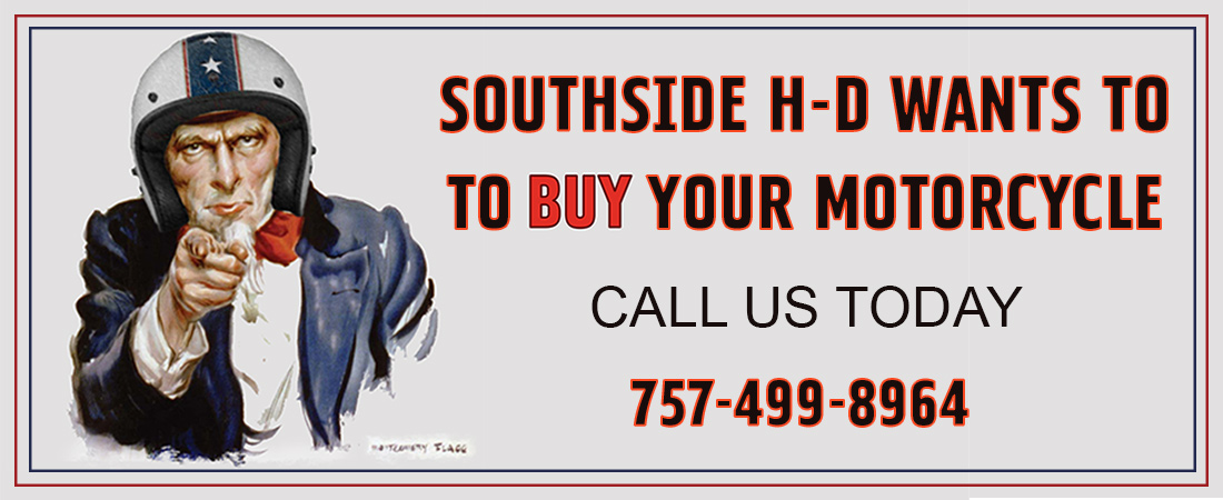We want to buy your motorcycle!