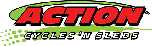 Action Cycles 'n Sleds Logo