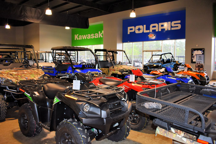 R/T Powersports showroom