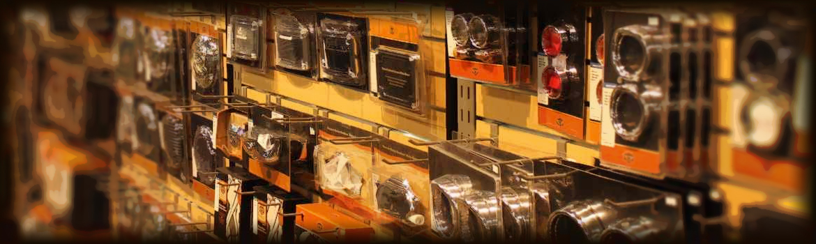 Parts Department at All American Harley-Davidson