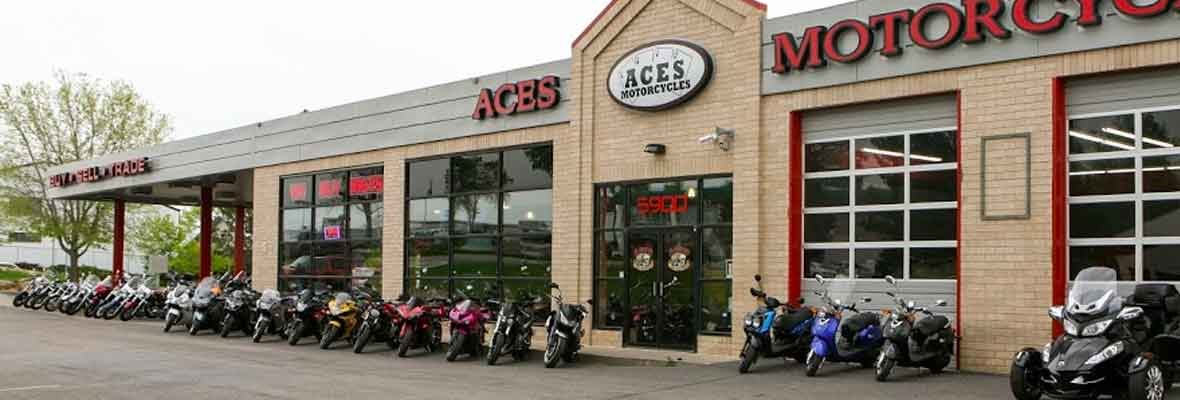 Aces Motorcycles Storefront