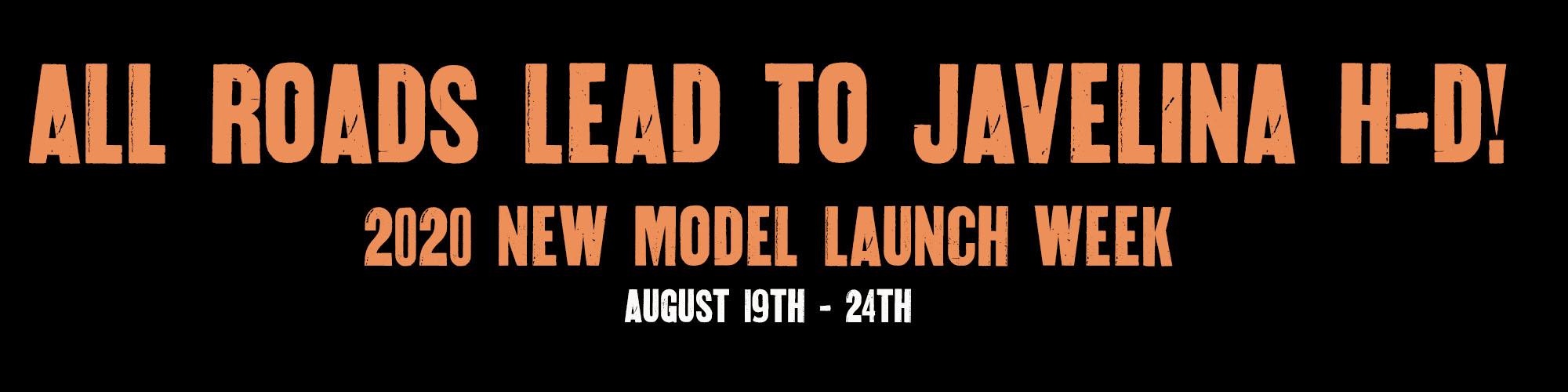 2020 Harley-Davidson Model Launch Week