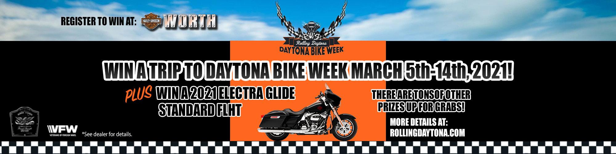 Harley Rolling Daytona - Harley Bike Week Contest
