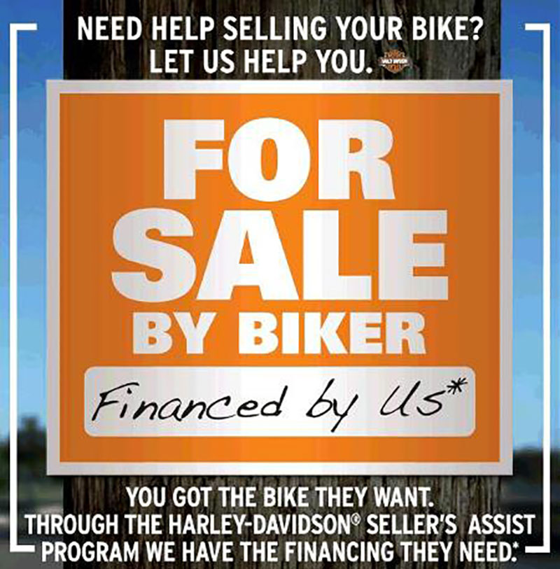 Seller Assistance At Indianapolis Southside Harley-Davidson