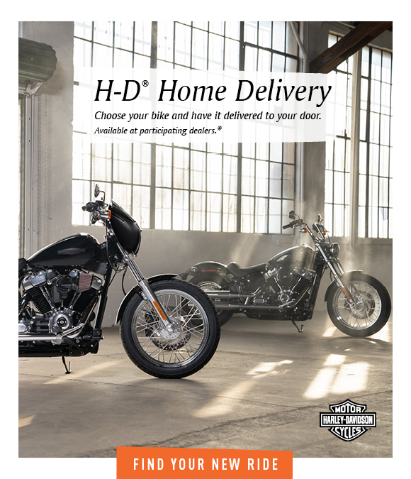 Get Home Delivery with Harley-Davidson of Asheville